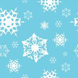 Winter - blue christmas seamless pattern