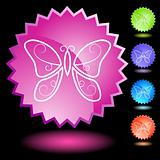 Neon Seal Set - Butterfly