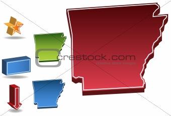 Arkansas 3D