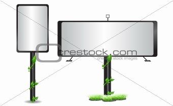 Advertisement billboard ares
