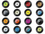 Many vinyls