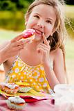 Big cupcake girl
