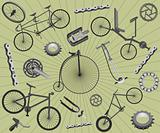 Bicycles and spares