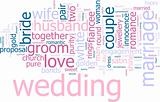 Wedding word cloud