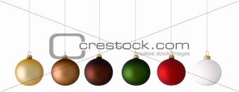 Christmas balls variation