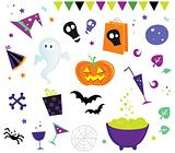 Halloween vector design elements and icons II
