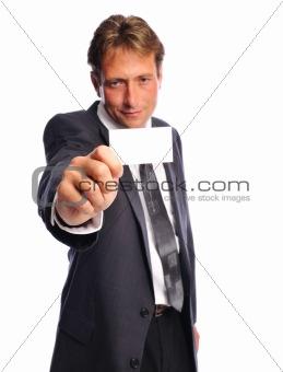 businesscard man