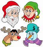 Christmas faces collection 2