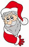 Lurking Santa Claus