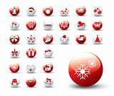 Christmas icons