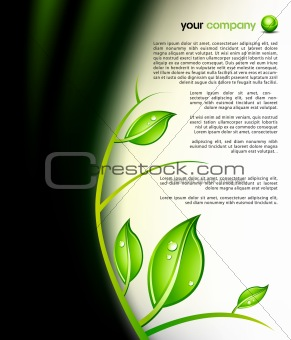 green design template