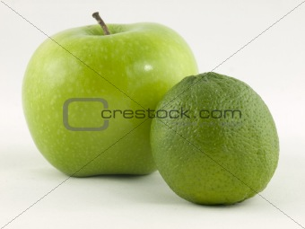 apple and limon