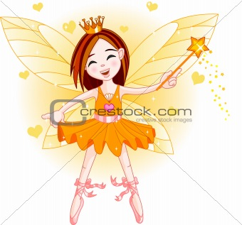 Little orange fairy