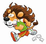 Runner Lion.