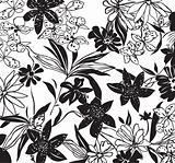 seamless flower design