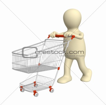 3d puppet, going for purchases