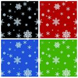 Seamless Christmas backgrounds