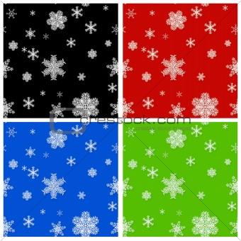 Seamless Christmas backgrounds