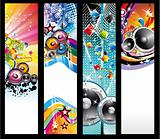 Music Background for Discoteque Flyers
