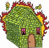 Burning Money House