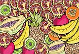 Fruit Collection - Collage