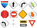 Road Navigation Icons