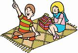 Kid Adventures: Fall Picnic with Friend