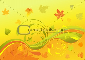 Autumn design, vector illustration
