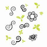 spiral vector symbol