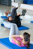Abdominals gym class