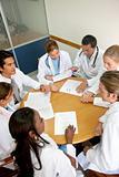 doctors in a meeting