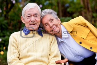 couple of elder people