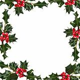 Holly Leaf  Frame