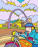 Kid Adventures: Motorcycle Ride in St. Louis