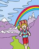 Kid Adventures: Hiking in the Mountains