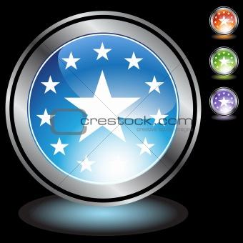 Black Chrome Icons - Stars