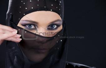 ninja face