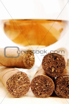 Cigars and Cognac