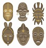 AFRICAN MASKS