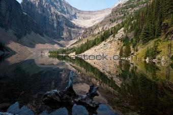 Agnes Lake Near Lake Louise