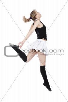 Break Dancing Girl