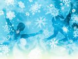 Snow kids