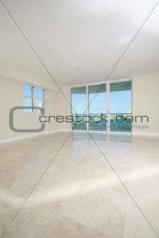 Blank room