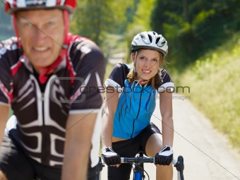 senior cyclist