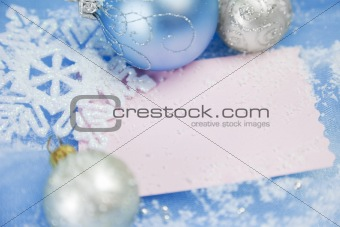 Christmas cards / with copy space