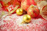 Christmas Background / Holiday Decorations