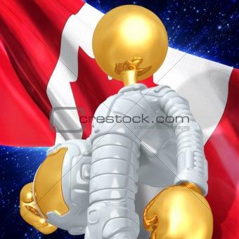 Gold Guy Astronaut