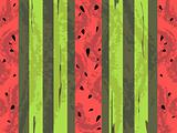 Vector watermelon grunge background