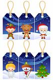 Christmas gift tags