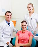 dentist and assist with patient in office